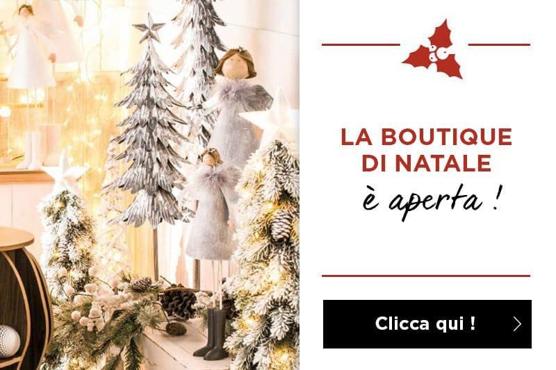 E aperta la boutique di Natale 2018