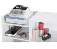 banco cassa con registratore di cassa