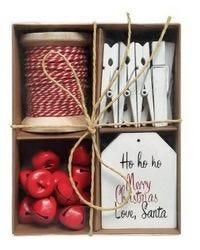 Kit di imballaggio decorativo natalizio