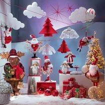 Pupazzi di neve e personaggi di Natale
