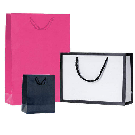 Shopper lusso plastificate
