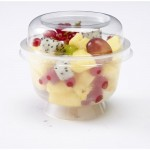 Coppa dessert con coperchio 200ml 10,15x8,25cm - Pack da 20