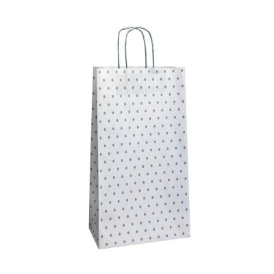 "Busta shopper ""Charme"" maniglie ritorte lungh. 32 x prof. 16 x alt. 44 cm-Shopper in carta kraft"