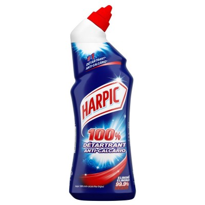 Gel wc Harpic 100% anti-incrostazioni 750 ml-Accessori e detergenti per pulizie