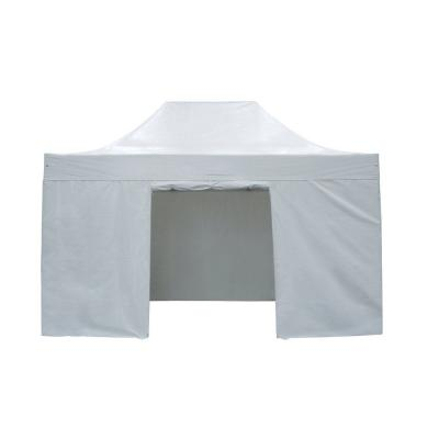 Kit 4 tende bianco per gazebo 3x4.5m-Tende, barnum