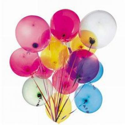 Palloncini colorati assortiti - Pack da  100-Palloncini