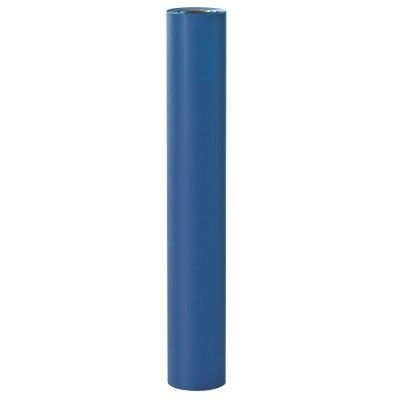 Rotolo carta regalo kraft blu marino 100 m x 70 cm-Carta regalo